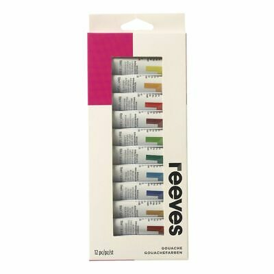 Reeves Gouache Paint Set 12 Pack