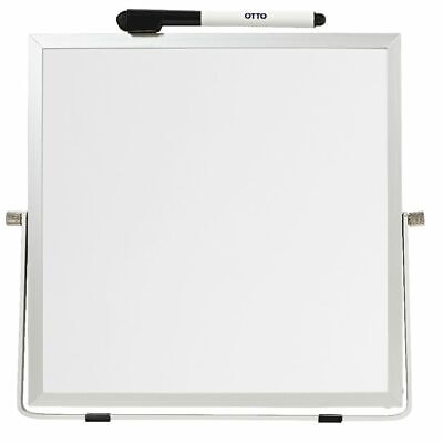 Double Sided Desktop Whiteboard White