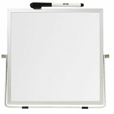 J.Burrows Double-sided Desktop Whiteboard White