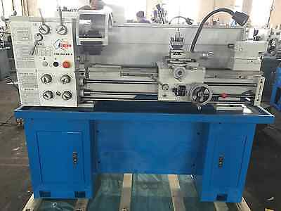 2HP Geared Head Metal Lathe, 240V, 300x910mm With Stand