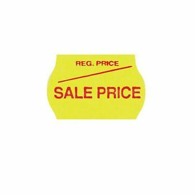 NEW Checkpoint Meto Sale Price Labels Yellow 10 Pack