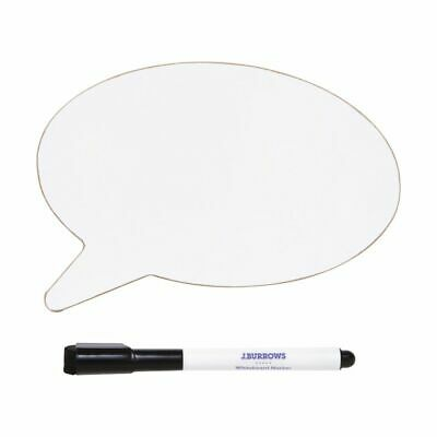 J.Burrows Mini Speech Bubble Whiteboard