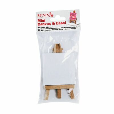 Reeves Miniature Easel and Canvas