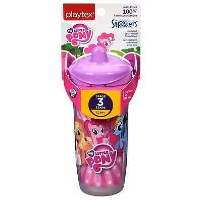 Playtex Sipsters My Little Pony Spout Sippy Cups 9 oz, Assorted 1 ea