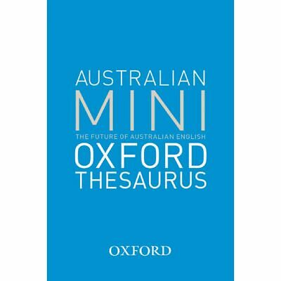 Oxford Australian Mini Thesaurus