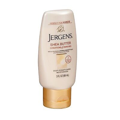 Jergens Shea Butter Deep Conditioning Moisturizer 3 oz (Pack of 2)
