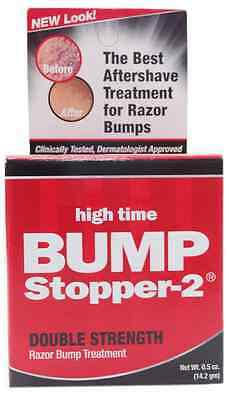 High Time Bump Stopper-2 Razor Bump Treatment, 0.5 oz (Pack of 2)