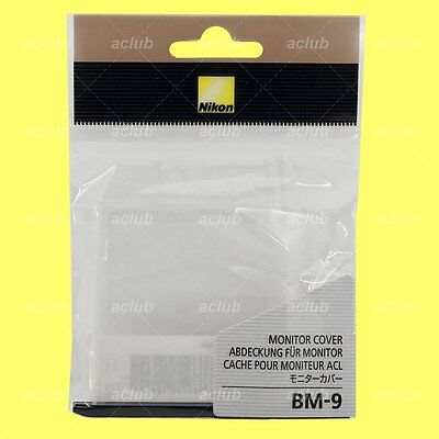 Genuine Nikon BM-9 Camera LCD Monitor Cover Screen Protector for D700