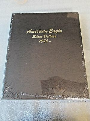 One DANSCO American Silver Eagle without Proofs 1986-2021 Album #7181