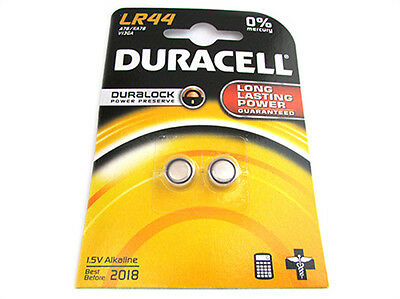12 x duracell lr44 1 5v alkaline button cell batteries lr for Batteria bottone lr1130