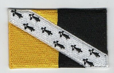 Embroidered NORFOLK County Flag High Quality Iron on Sew on Patch Badge