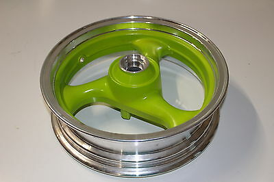 """13"""" Wheel for 150cc and 125cc GY6 Scooters Green"""