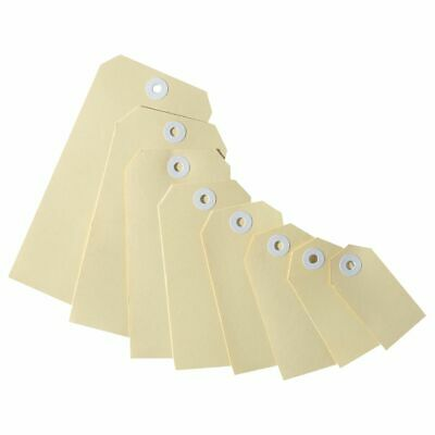 Avery Heavy Duty Buff Shipping Tags Size 5 100 Pack