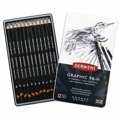 Derwent Graphic Sketching Pencils Soft 12 Pack