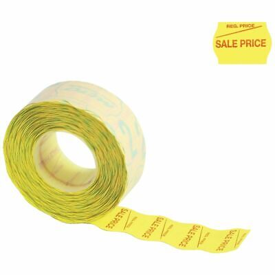 Meto 2 Line Series Labels Sale Price Yellow 5 Pack