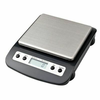 NEW Jastek Scale Electronic Black Silver 5kg Weight Capacity Digital Scales