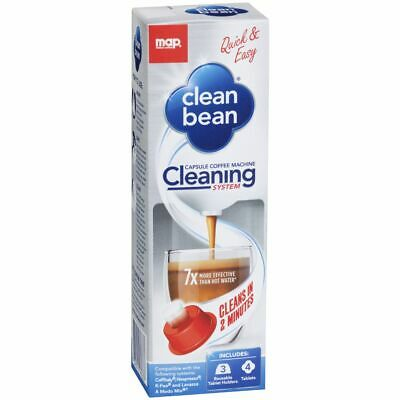 Clean Bean Capsule Coffee Machine Cleaning System
