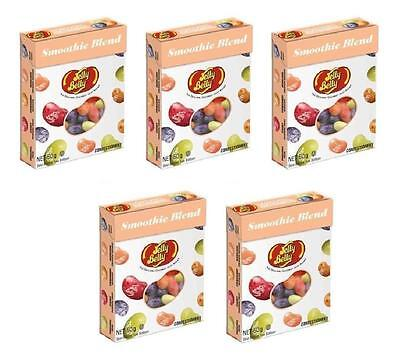 5x Jelly Belly Smoothie Blend Flavours The Original Gourment jelly Bean 50g -New