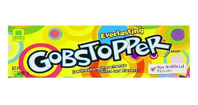 Formally Wonka Everlasting Gobstoppers 50.1g Box Retro Sweets American Candy