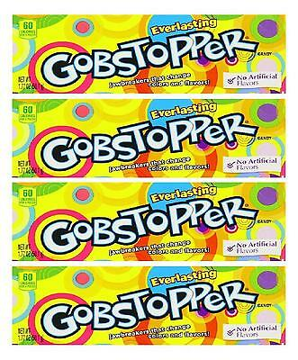 4 x Formally Wonka Everlasting Gobstoppers 50.1g Box Retro Sweets