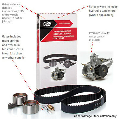 Timing Cam Belt Water Pump Kit Kp15557Xs-1 For Audi Skoda Vw Cambelt Tensioner