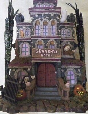 Grandpa's Touch of Transylvania Hotel the Munsters 2004