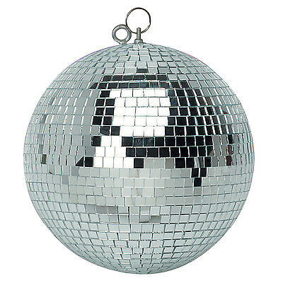 "Soundlab Professional Silver 500 mm (20"") Lightweight Mirror Disco Ball 4.4kg"