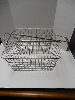 Used Wald 535 Pack Twin Carrier Bicycle Basket Large