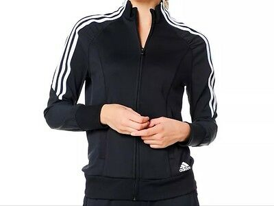 adidas Response Climacool  Zip Up Sports/Gym Top Size 12-14 Black NEW WITH TAGS