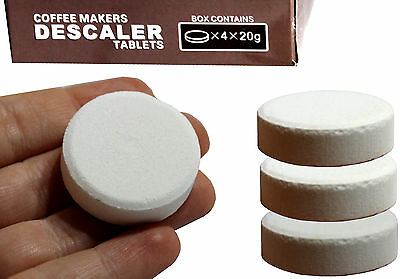 Water Descaler Solution Keurig & Espresso Coffee Maker Machine Tablets Descaling