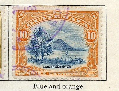 Guatemala 1902 Early Issue Fine Used 10c. 087568
