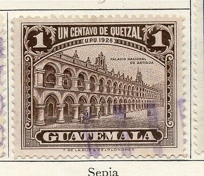 Guatemala 1929 Early Issue Fine Used 1c. 087603