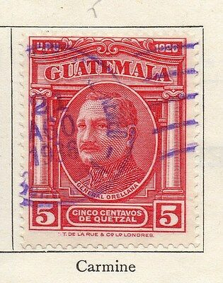 Guatemala 1929 Early Issue Fine Used 5c. 087606