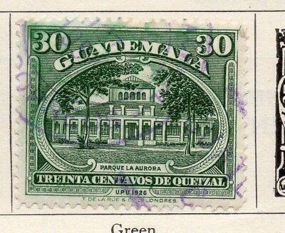 Guatemala 1929 Early Issue Fine Used 30c. 087608