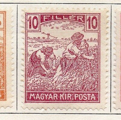 Hungary 1920 Early Issue Fine Mint Hinged 10f. 087818