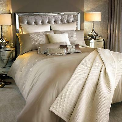 Alba Praline/Oyster Bed Linen by Kylie Minogue At Home ... New Design Sep 2016