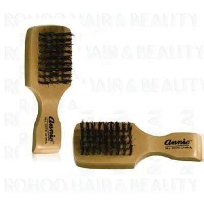 Annie Mini Boar Bristles Club Brush **hard Bristles**  For Hair And Beard