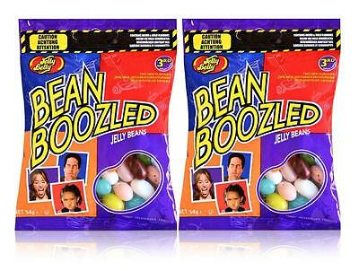 2 x Jelly Belly 3rd Edition Bean Boozled 54g Refill Candy Bags - New
