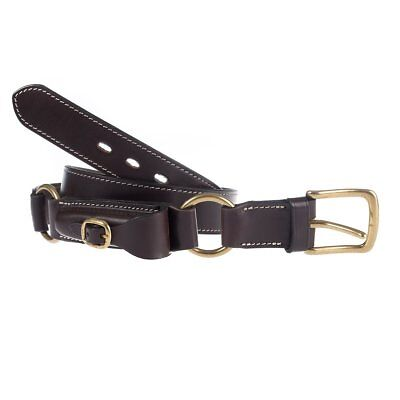 NEW Genuine Australian Leather Hobble Belt With Pouch