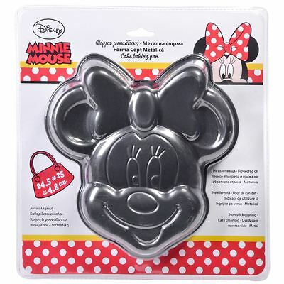Disney Metall Minnie Mouse Backform Kuchenform Cake Baking Pan new neu Backblech