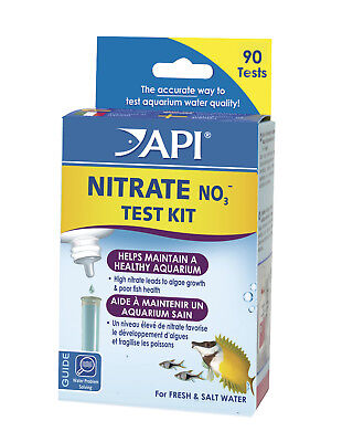 FREE SHIPPING API NITRATE Test Kit Testing Fresh Salt Water Aquarium Fish Tank