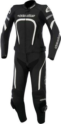 Alpinestars Stella Motegi 2PC Womens Leather Motorcycle Street Sport Racing Suit