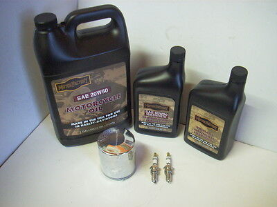 Service Kit for Harley-Davidson Twin Cam Oil, Filter & Plugs