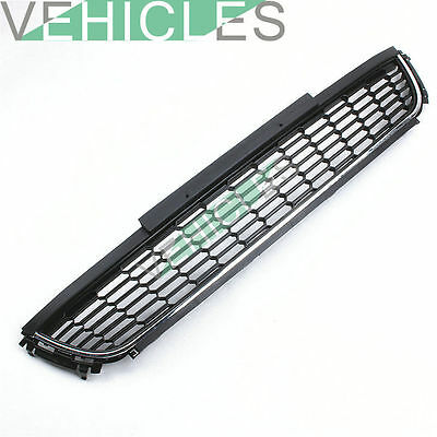 New High Quality Chrome Front Bumper Lower Grille Cover For VW Polo 6R 2010-2014