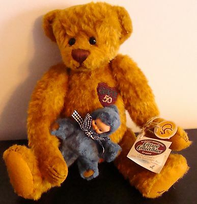 New Ganz Old Friend 50Th Anniversary Bear 1999 Lorraine Chien New With Tags