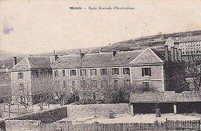 Cpa Mende Ecole Normale D´ Institutrices