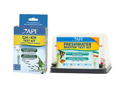 FREE SHIPPING API VALUE PACK Freshwater Aquarium Master Test Kit + GH & KH Fish