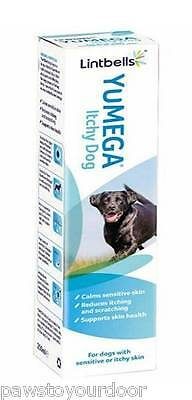 Lintbells YuMEGA Itchy Dog Omega Oil for Sensitive or Itchy Skin 250ml or 500ml