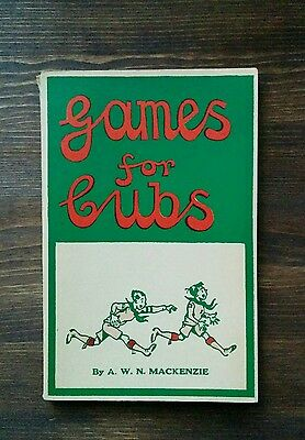 Games for Cubs - 1964 Boy Scout Book