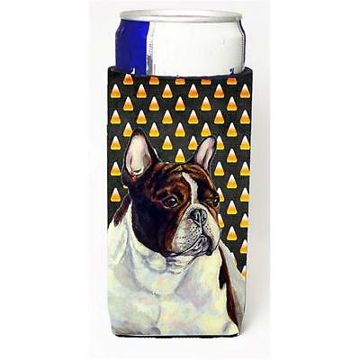 French Bulldog Candy Corn Halloween Portrait Michelob Ultra bottle sleeves Fo...